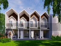 Dijual - Rumah 2lt 400-500 jutaan + Kolam Renang