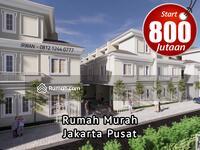 Dijual - Rumah Murah Jakarta Pusat, Rumah Murah Kemayoran