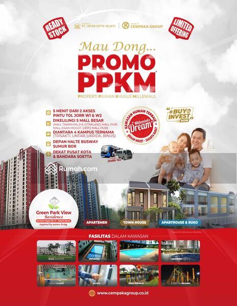 Green park view Rumah Residence Cengkareng Jakarta barat #107927745
