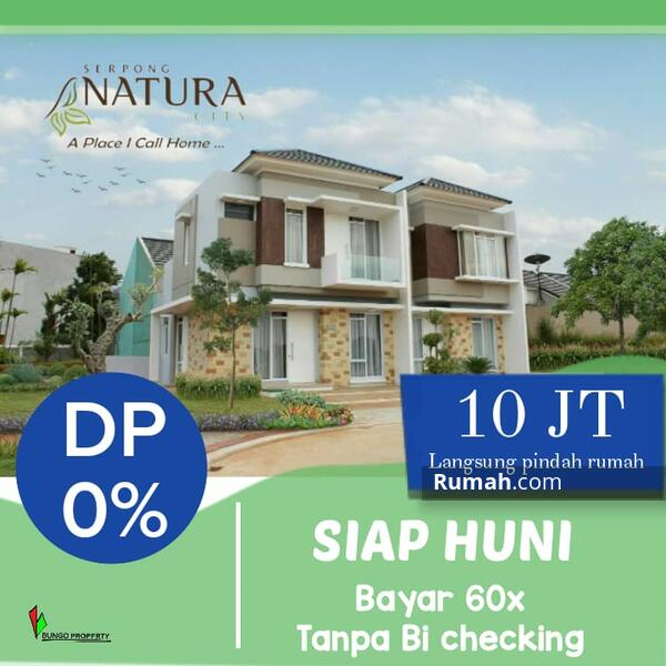 Serpong natura city cluster river valley #107947625
