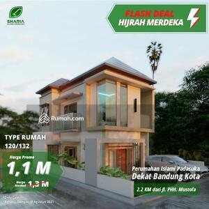 Dijual - Perumahan Syariah Bandung Timur Padasuka Lokasi Dekat Kampus Itenas Dekat Gedung sate Pusat Kota