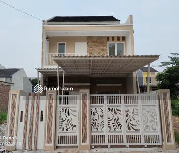 Dijual - Rumah murah cantik minimalis cluster asri 2 lantai dekat ke pintu tol Cibubur