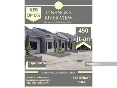 Dijual - Cluster River View Pondok Cabe