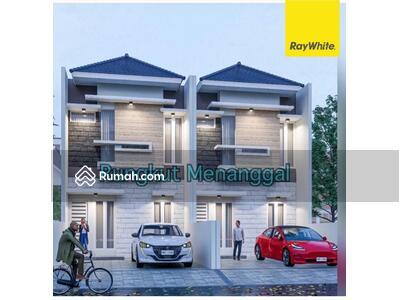 Dijual - Rumah Baru Minimalis 2 lantai di Rungkut Menanggal, Surabaya