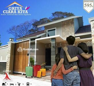 Dijual - DIJUAL 5 Unit Rumah Cluster One Gate (Proses Bangun) di Selatan GOR Sleman