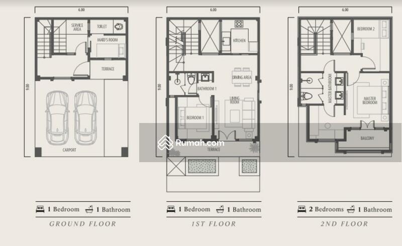 Rumah Eropa Double Decker Pertama Di Tangerang - Lavon Swancity #108333967