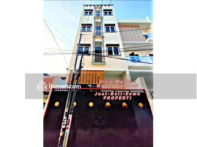 Dijual - ANA*Rumah Kost Kosan 4, 5 Lantai Uk 5X15M Bangunan Baru Lokasi Strategis Di Jelambar