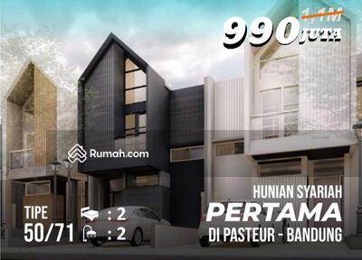 Dijual - Telah Hadir! Hunian Syariah Pertama di Pasteur Kota Bandung! Hanya 6, 6km ke PVJ dan  4, 3km dari BTC!