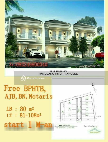 Rumah dijual di Pamulang #108457225