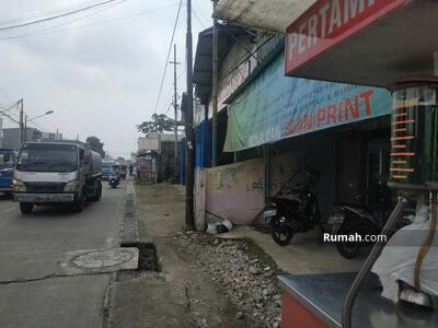 Dijual - Rumah 2 Lantai cocok usaha pinggir jalan Raya semplak atang sanjaya dekat yasmin kota Bogor
