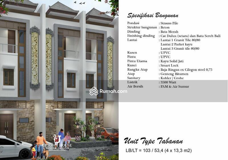 Uptown house bangka kemang #108539551