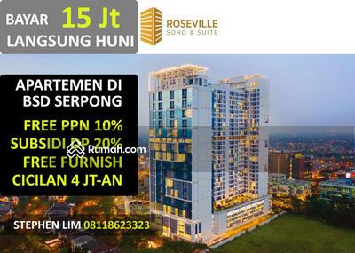 Dijual - Cicilan 4 Jt Langsung Huni di BSD Serpong Roseville Soho & Suites Apartemen Mewah