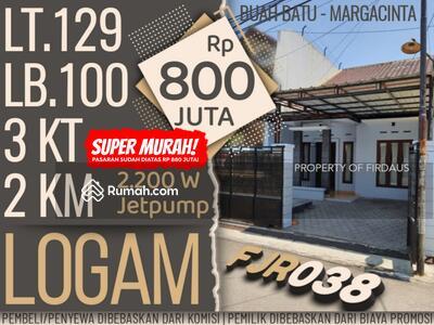 Dijual - FJR038 Rumah di Logam Bandung | Jakapurwa Bardan Margacinta Ciwastra Buah Batu Bubat