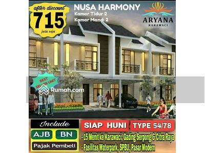 Dijual - aryana karawaci Tangerang, binong curug, Lippo karawaci