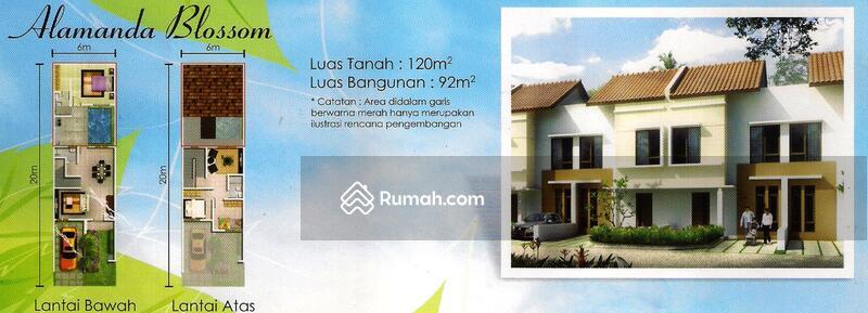 Rumah 2 lantai 6x20m 120m Type 3KT Cluster Alamanda JGC Jakarta Garden City #109092269