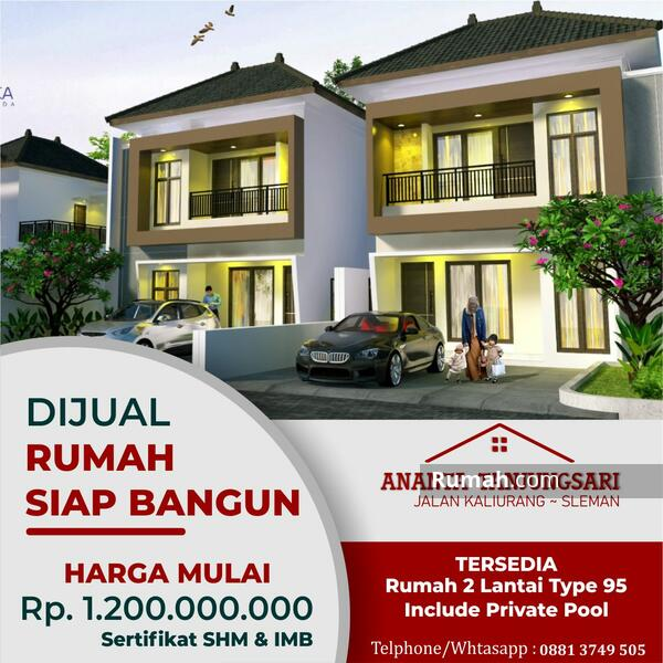 Rumah Mewah 2 Lantai Jalan Kaliurang Dekat Kampus UII #108812755