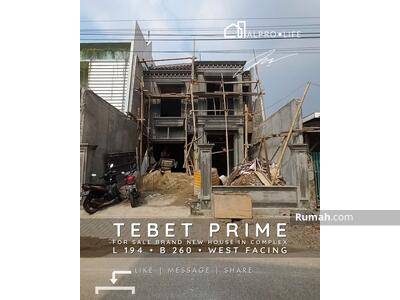 Dijual - Jual Cepat Rumah Baru Area komplek Elit Jalan Lebar di Tebet