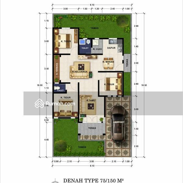 Rumah mewah di pekanbaru #108837523