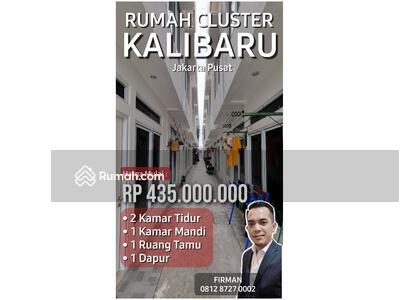 Dijual - Rumah Murah Cluster Minimalis Kalibaru Jakarta Pusat