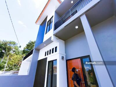 Dijual - Rumah Lux 2 Lantai 3Kamar Kota Bdg dekat Borma Pasir  Impun Bonus Kanopi Kompor Tanam Pintu Digital