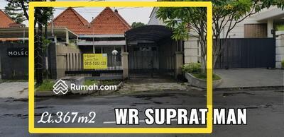 Dijual - Dijual Rumah Komersial di Jl Wr Supratman, Kawasan Raya Darmo Surabaya