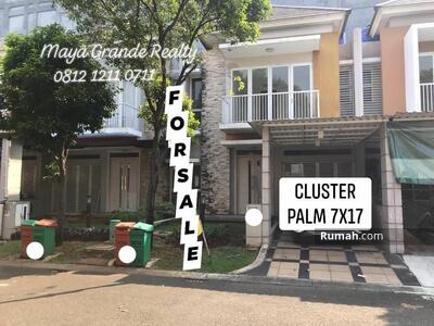 Dijual - Palm Summarecon Bekasi
