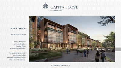 Dijual - Capital Cove, Business Loft, Bsd City, gedung kantor mewah