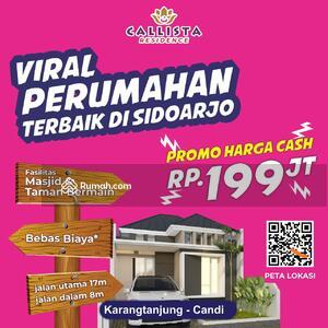 Dijual - Rumah Di Sidoarjo Promo 100 jt-an di Bulan September