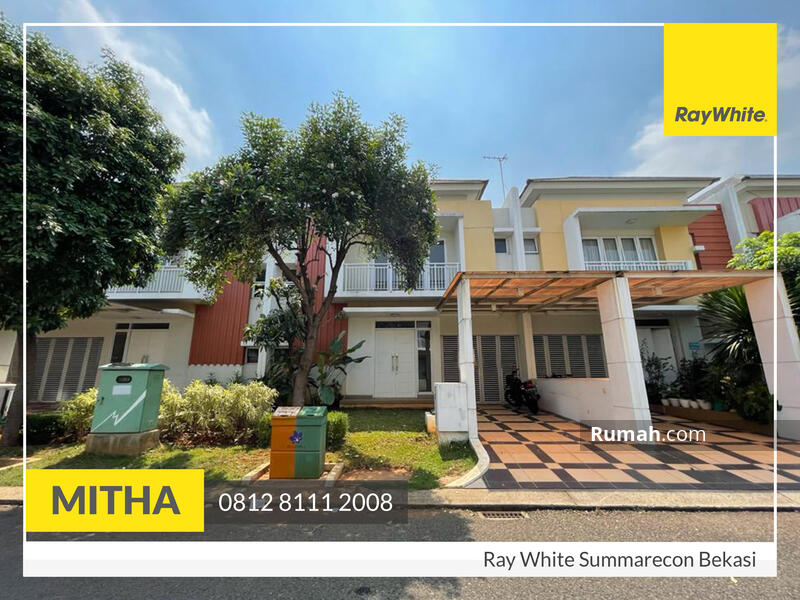 Dijual Rumah Nyaman Siap Huni, Bluebell Residence Summarecon Bekasi #109048139