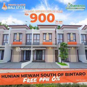 Dijual - Rumah Bali Cluster Tipe Minimalis Include Kitchen Set Area Selatan Bintaro