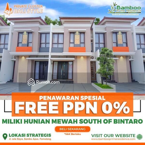 Rumah Private Bali Cluster Selatan Bintaro Dekat Tol Serpong #109060499