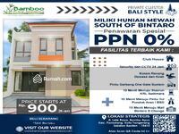 Dijual - 10 Menit Menuju MRT Lebak Bulus Private Bali Cluster Selatan Bintaro