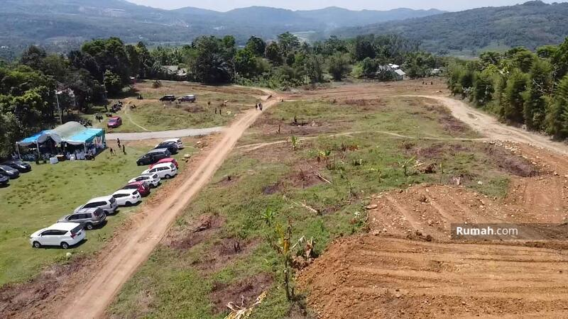 Dijual tanah kavling murah di bogor 49 juta view gunung bisa bangun hunian dan vila #109074587