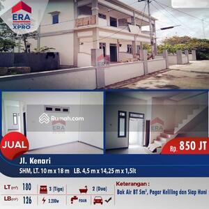Dijual - Ruko 2lt, full beton Harga terjangkau kota Pontianak