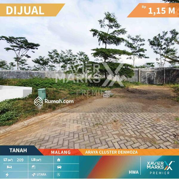 Dijual Tanah Harga Terjangkau di Araya Cluster Denmoza, Malang #109127953