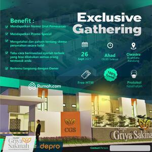 Dijual - Hunian Islami Cluster Griya Sakinah Area Ciwastra Buahbatu KPR Syariah Cicil ke developer Tanpa Bank
