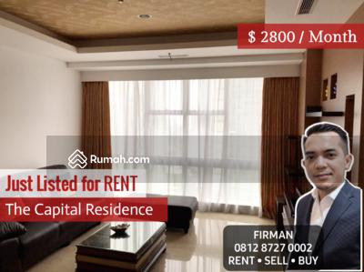 Disewa - Disewakan Murah 3 Bedroom 3 BR Full Furnished Luas 171 sqm Apartemen Capital Senayan Jakarta Selatan
