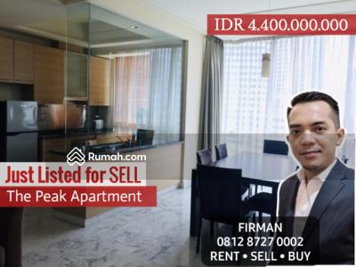 Dijual - Dijual Murah 3 Bedrooms 3 BR Furnish Luas 159 sqm Apartemen The Peak, Setiabudi, Jakarta Selatan