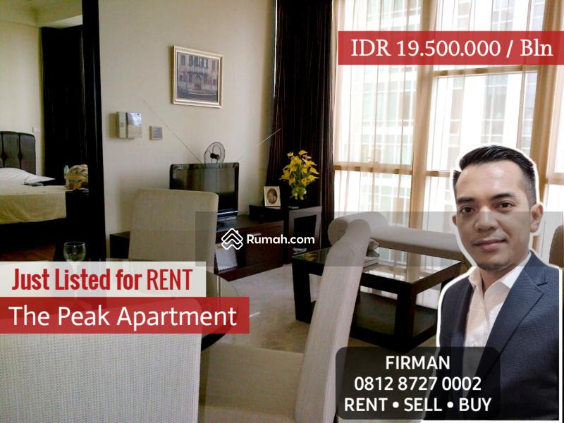 Disewakan Murah 2 Bedrooms 2 BR Full Furnished Luas 84 sqm Apartemen The Peak, Setiabudi #109204015
