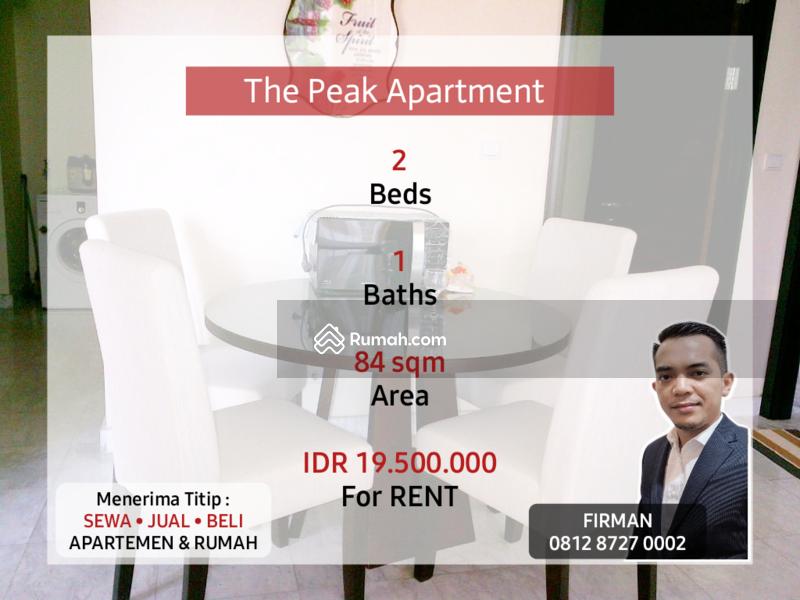 Disewakan Murah 2 Bedrooms 2 BR Full Furnished Luas 84 sqm Apartemen The Peak, Setiabudi #109204019