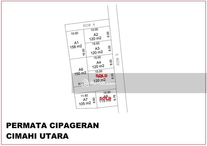 Tanah Di Kota Cimahi #109210125