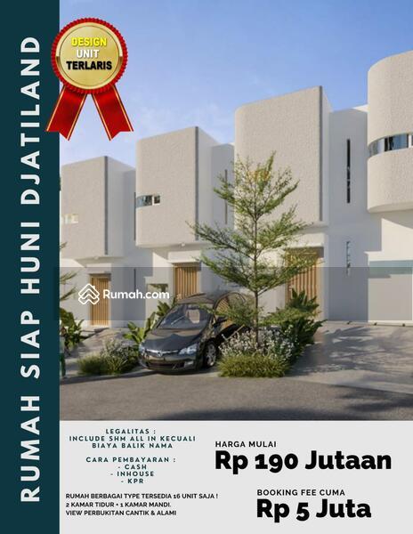 Rumah Termurah Di Djatiland DP 30% Bisa Langsung Dihuni #109240531