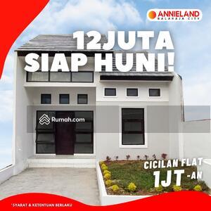 Dijual - Perumahan Annieland Balaraja City Subsidi Siap Huni Lokasi Tangerang Angsuran Flat 1 Juta