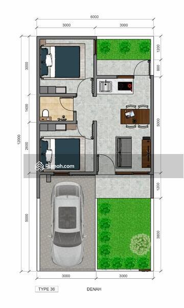 Rumah Minimalis Nuansa asri di kawasan favorit Almahyra Cihanjuang #109271943