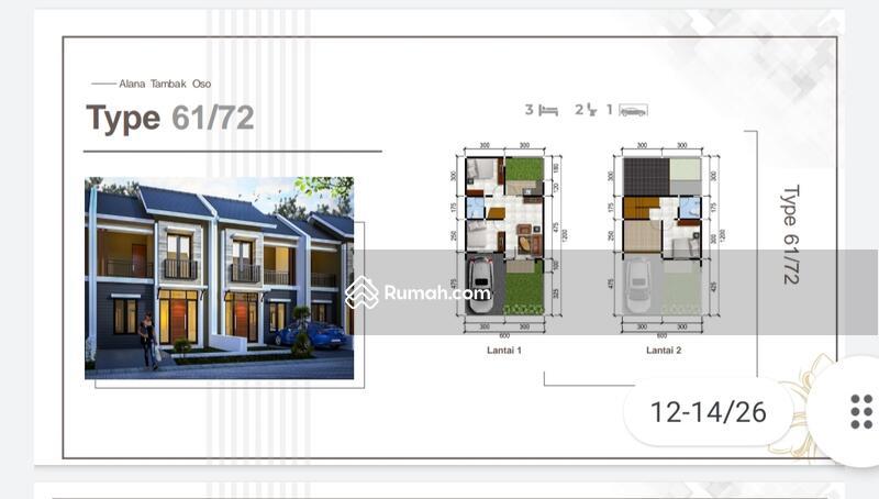 Rumah Minimalis Alana Tambak Oso #109273991