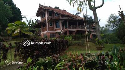 Dijual - Jual Villa Ciawi Puncak Bogor Tanah Luas 1 hektar Bisa Akses Jalan Alternatif Bebas Macet Buka Tutup