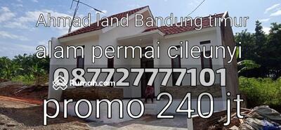Dijual - (Alam Permai Cileunyi)Jual Rumah Baru Murah Free Desain Cileunyi Bandung Timur Dekat Tol Cileunyi