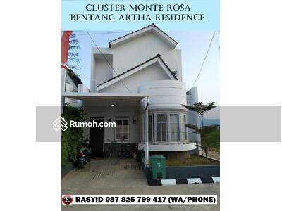 Dijual - Cluster Monte Rosa Bentang Artha Residence Rumah Model Eropa DP 0 % KPR Dibantu