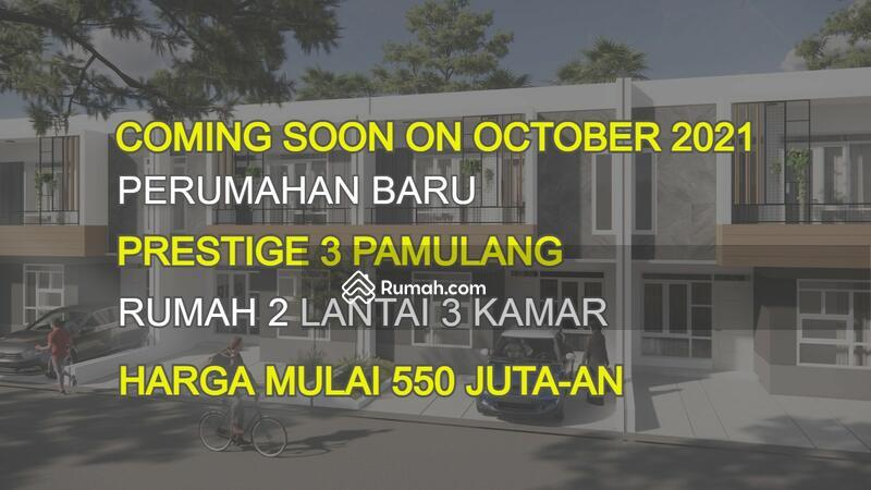 Segera di Buka Perumahan baru Prestige 3 Pamulang Oktober 2021, Harga Murah 2 Lantai 3 Kamar 500 Jt #109396353
