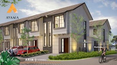 Dijual - Rumah baru 2 Lantai (5x15m2) 800 Jutaan dekat BSD, Pamulang dan Serpong